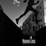 Ferhat Celik, kids jumping