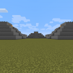 Scene from the Minecraft map of Teotihuacán