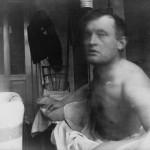 Edvard Munch à la Marat ved badekaret på Dr. Jacobsons klinikk