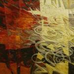 La memoria del fuoco vesuviano a contatto con il mare. 1988