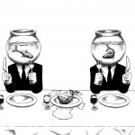 Pisacane Arte_Loris Dogana_Vacanza (Funeral Party)_inchiostro su carta_2012_35x50 cm_350Ôé¼