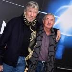 Roger Waters e Nick Mason, il Corriere, Roma