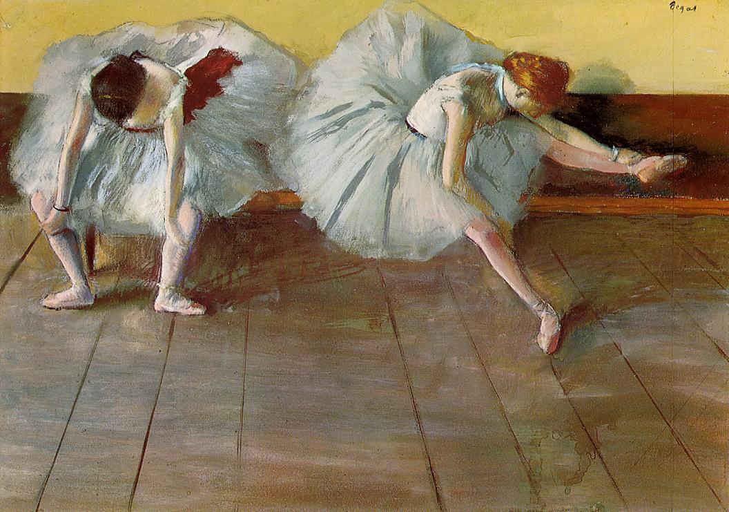 Two Ballet Dancers Edgar Degas