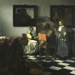 Vermeer, The concert, 1666