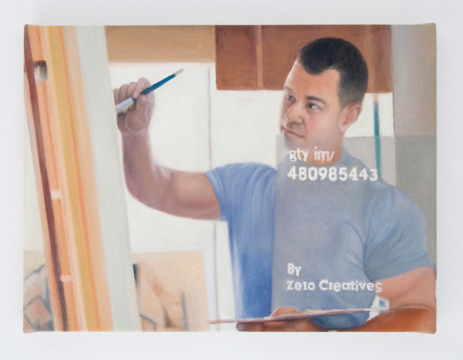 mature-male-artist-working-on-canvas-in-studio-royalty-free-image