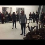mains hum, il video della performance al Maxxi per la mostra Blackout