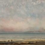 Gustave-Courbet-La-spiaggia-a-Trouville