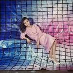 Sarah Cwynar 5. Tracy Grid Blue to Pink