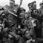 Werner Bischof, Fotografi della stampa internazionale durante la Guerra di Corea