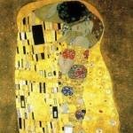 Gustav Klimt, Il bacio, 1908