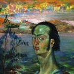 Autoritratto con il collo di Raffaello, 1921