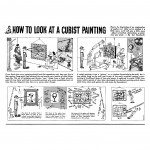 21 Ad Reinhardt, How to Look at a Cubist Painting, 1946. Courtesy David Zwirner, New York:London:Hong Kong