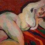 Virgilio Guzzi, Nudo Sdraiato