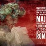 Musica, video e fotografia per il progetto Maja all'interno di Klimt Experience