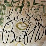 Carlo Montarsolo, Beethoven, 1981, olio su tela