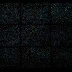Massimo Catalani, Le grand noir, technique mixte photoluminescente, 2018, 187 x 251 cm, version de nuit