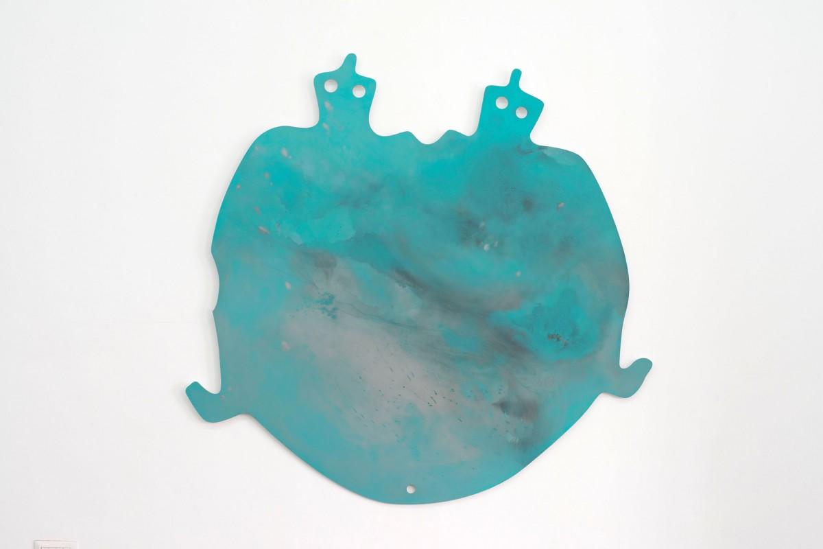 Corinna Gosmaro, Double turtle palette, 2018, photo Giorgio Benni