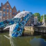 Studiocka, The bruges whale. Foto   Jan D'hondt (Visit Bruges)