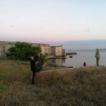 © Luana Rigolli, Paolo Ventura ed altri partecipanti fotografano il tramonto l'ultimo giorno