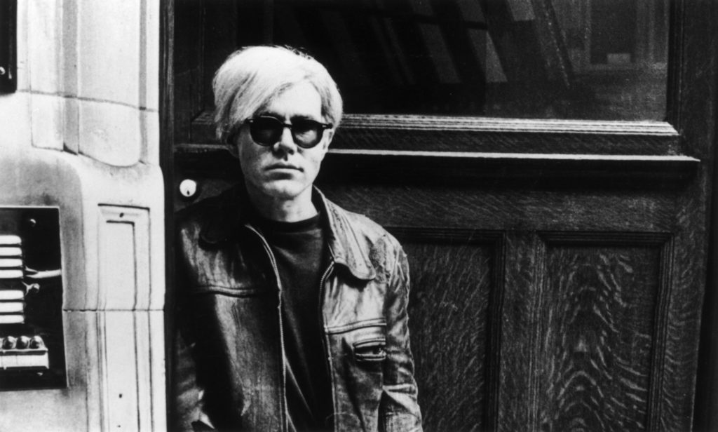 Andy Warhol. Photo: Express Newspapers/Getty Images.