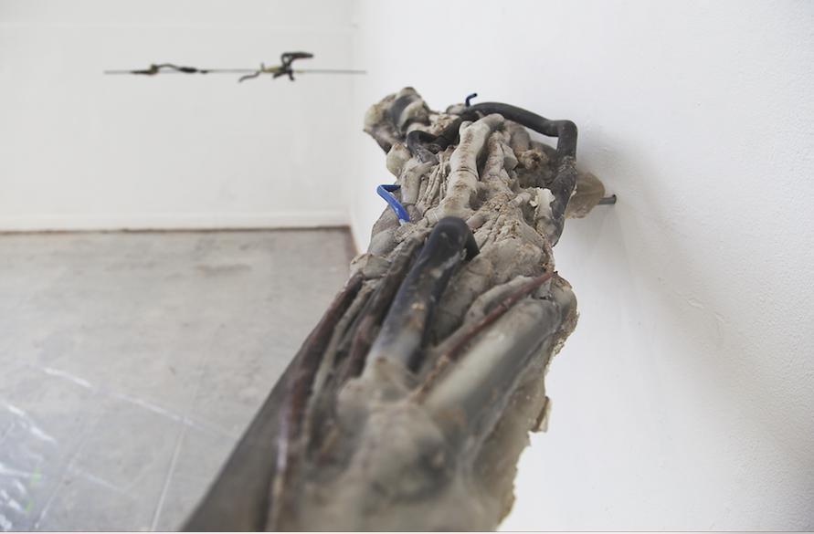 Aprile 5055, 2017, installation view De Ateliers Spazio A Pistoia,