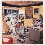 Richard Hamilton Just what was it that made yesterday's homes so different, so appealing? (Upgrade), 2004. Stampa a getto d'inchiostro a pigmento piezo, cm 42 x 29,7 edizione di 25. Courtesy Alan Cristea Gallery, Londra © Richard Hamilton by SIAE 2018.