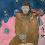 Paul Gaguin, ritratto di giovane donna, 1896