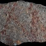 Grotta di Blombos, dipinto