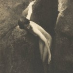 Anne Brigman, The cleft of the rock, Courtesy of the Nevada Museum of Art