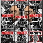 Gilbert & George, Machete, courtesy Galleria Alfonso Artiaco, Napoli