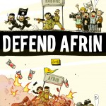 Defend Afrin, 2018, Courtesy Zerocalcare