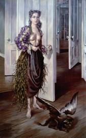 Dotothea Tanning, Birthday, Philadephia Museum of Art © VEGAP