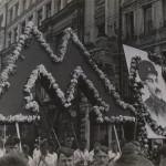 Demonstration in Miasnitskaya Street (M-metro) © A. Rodchenko – V. Stepanova Archive/ Multimedia Art Museum, Moscow