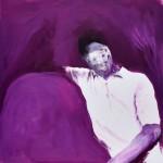 Portrait Study oil on paper 20 X 20 cm 2018