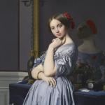 """Portrait of Comtesse d'Haussonville"""", Jean Auguste Dominique Ingres"""