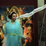 Luigi Presicce, 14 tableau vivant per un'idea di predella (dettaglio), 2018, Museo di Palazzo Pretorio Prato. Fotografia Ivan D'Ali