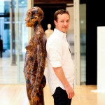 Senza titolo, legno e resina di pino, 175 cm, 2012