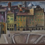 2.Konchalovskij, Piazza della Signoria a Siena