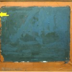 Mario-Schifano,-Indicazione,-1963,-Enamel-on-paper-laid-down-on-canvas,-130x150-cm