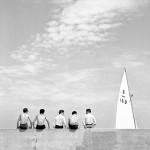 11. Nino Migliori, da 'Gente dell'Emilia', Quattro con, 1955