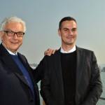Paolo Baratta e Massimiliano Gioni  - la Biennale di Venezia 1