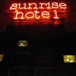 E.Ponzi, Sunrise Hotel, courtesy Wunderkammern - Roma