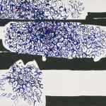 ANTONIO SANFILIPPO, Senza Titolo, tempera su tela (1961), LGT