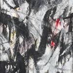 05 - Emilio Vedova, Senza titolo,  1959, olio su masonite, cm 50 x 35