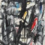 07 - Senza titolo, 1959, olio su tela, cm 65 x 50