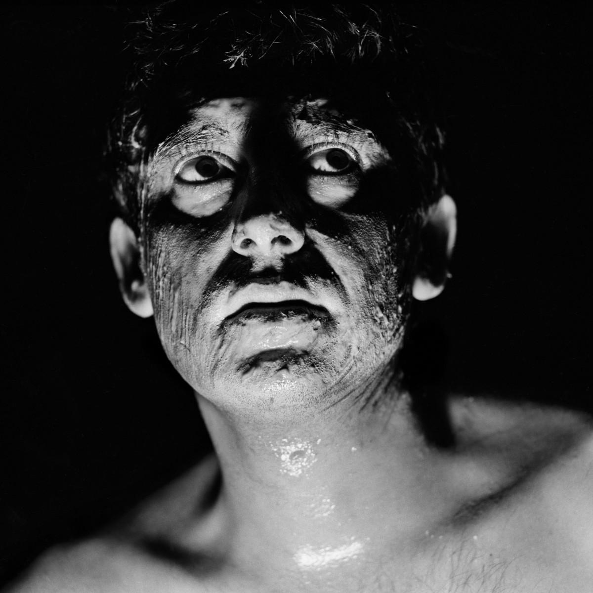 Claudio Abate, Carmelo Bene, Il Rosa e il Nero, 1966
