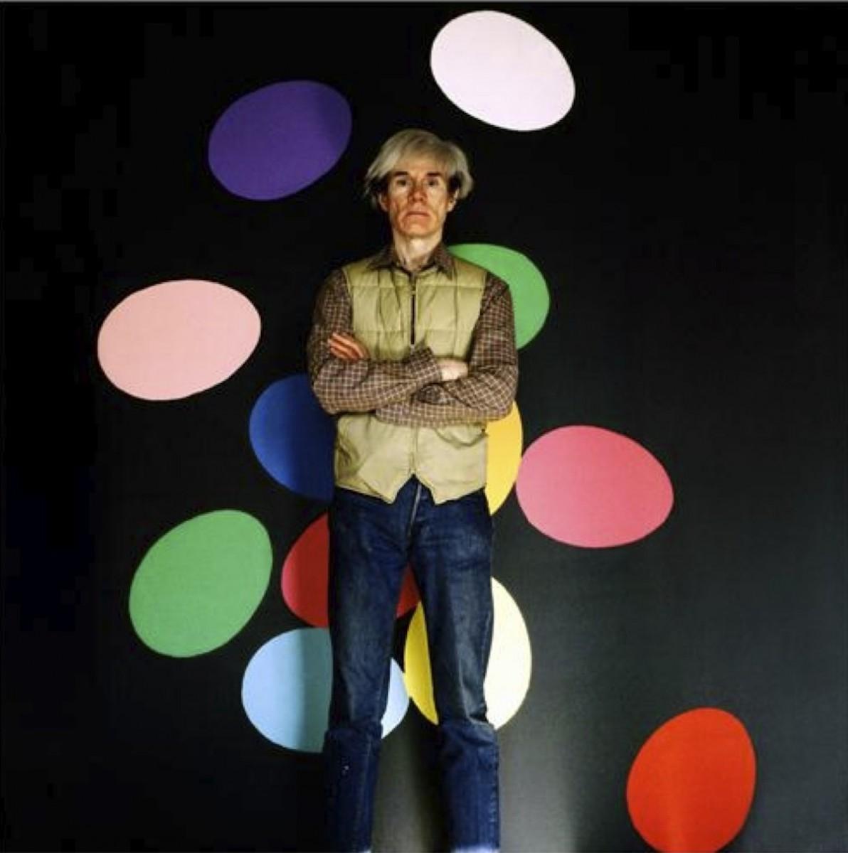 Aurelio Amendola, Andy Warhol, 1986, 100x80 cm
