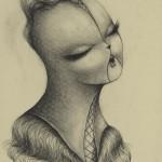 Corset-Face-1_70x50cm_pencil-on-paper-r