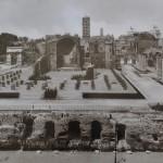 Fratelli Alinari, Fori Imperiali, 1925, Courtesy Galleria M&D Arte, Gorgonzola