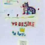 GUIDO PECCI - To desire, 2010, tecnica mista su carta applicata su tavola, 70x50cm, courtesy Romberg